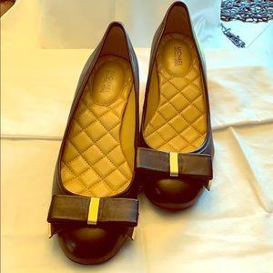 MK chunky heel